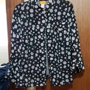 Great blouse/jacket dressy/casual
